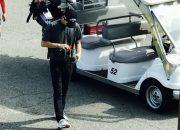 'Trốn' Song Hye Kyo, Song Joong Ki chơi golf cùng bạn nổi tiếng trước ngày sinh nhật