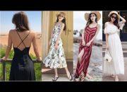 MAXI HOT TREND 2018 – Đầm maxi xinh yêu hết nấc đi biển đi chơi