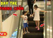 Mẹo an toàn cho trẻ khi đi thang cuốn| Kỹ năng sống [số 105] | ANTV