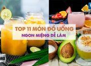 TOP 11 MÓN ĐỒ UỐNG dễ làm ngon miệng nhất định phải thử | Feedy VN