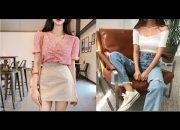 Tổng Hợp Những Mẫu Áo Váy Đầm Hot Trend  Style Hàn Quốc 2018 – The best Korean Fashion Trend 2018
