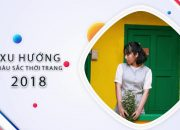 """Các Xu Hướng Màu Sắc """"Hot Trend"""" Năm 2018"""