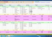 Phần mềm quản lý mầm non – Khẩu phần ăn – Cập nhật thực đơn