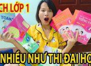 Ngỡ Ngàng Vì Hành Trang Con Vào Lớp 1 – Sách Nhiều Như Thi Đại Học – Nhật Ký Của Ba