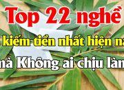Top 22 nghề dễ kiếm tiền nhất hiện nay mà Không ai chịu làm | Tài chính 24H