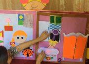 Quyển sách kỹ năng sống cho trẻ | Sách kỹ năng sống cho trẻ bằng vải nỉ | Đồ dùng dạy học..
