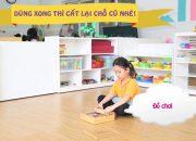 Kỹ năng sắp xếp đồ dùng cho trẻ mầm non | Mầm non Abi