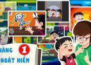 Phim hoạt hình Kĩ năng thoát hiểm cho Bé  – Không mở cửa cho người lạ.