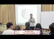 Tôi đã học được nhiều kiến thức từ khóa Kỹ năng thuyết trình ở Novaedu