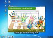 Phần mềm quản lý mầm non – Môđun Quản lý học sinh