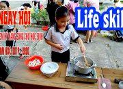 Ngày hội trải nghiệm kỹ năng sống cho học sinh 2019 – Life skills experience festival || Tran Vlog