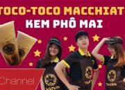 HÔM NAY ĂN GÌ – Thử đồ uống mới TocoToco Kem Phô Mai, Thử thách làm nhân viên bán trà sữa