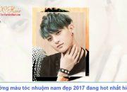 Xu hướng màu tóc nhuộm nam đẹp 2017 đang hot nhất hiện nay | VC Hair