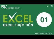 Học Excel cơ bản | #1 Làm chủ Excel qua 10 thao tác đơn giản