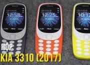 Đập hộp Nokia 3310 (2017): Cục gạch chụp ảnh, game con rắn, đèn pin, bluetooth