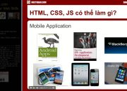 Lập trình web gồm kiến thức gì? Tại sao nên học lập trình Web?