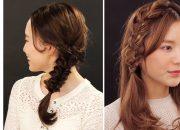 Một số kiểu tết tóc dễ thương cho mùa thu