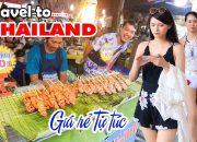 DU LỊCH THÁI LAN GIÁ RẺ TỰ TÚC ▶ Kinh nghiệm cầm 5 triệu ăn chơi Bangkok và Pattaya