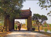 Tìm lại bình yên trên làng cổ Đường Lâm