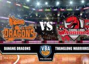 Thanglong Warriors tìm lại cảm giác chiến thắng trước Danang Dragons tại VBA
