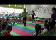 Môn học kỹ năng sống – Thầy Tùng Văn – Trường mầm non Funny Kids