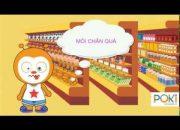 POKI CHANNEL | POKI đi siêu thị