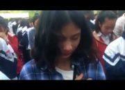 Học sinh Trường THPT Nghi lộc 3, Nghệ An khóc ròng trong buổi học kỹ năng sống