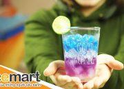 Cách pha nước chanh ngon, đổi màu GALAXY (Galaxy Lemonade) – BEEMART