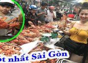 Hotgirl bán tôm hùm Alaska – cua Hoàng Đế đang gây sốt ở Sài Gòn