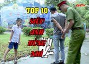 Top 10 Siêu Anh Hùng Nhí Dũng Cảm, Thông Minh Nhất | Kỹ Năng Sống | Camera giấu kín