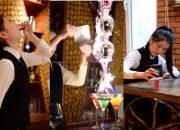 Đẳng cấp bartender Pha chế đồ uống ,cuộc so tài của hai cao thủ bartender hot nhất tiktok china