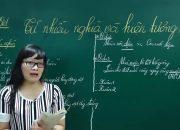 Ngữ Văn Lớp 6 –Bài giảng Từ nhiều nghĩa và hiện tượng chuyển nghĩa của từ ngữ văn 6|Từ và câu
