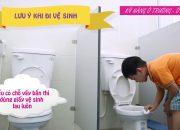 Kỹ năng dùng nhà vệ sinh   Kỹ năng sống cho trẻ mầm non   Mầm non Abi