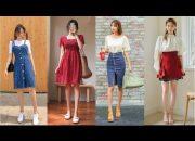 Tổng Hợp Những Mẫu Áo Váy Đầm  Style Hàn Quốc 2018 – The best Korean Fashion Trend (Phần 2)
