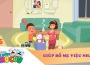VTV7   Chuyện kể của những chú cừu   Luôn giúp đỡ bố mẹ việc nhà