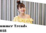 How I style SUMMER TREND 2018   Xu hướng thời trang mùa hè   Tee Hoang