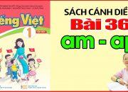 Tiếng Việt Lớp 1 SÁCH CÁNH DIỀU Bài 36 – Dạy Bé Học Bảng Chữ Cái Tiếng Việt